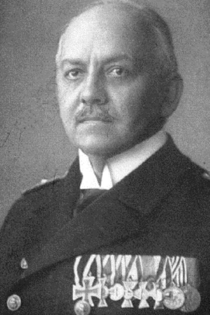 Max Loof, captain of the Königsberg