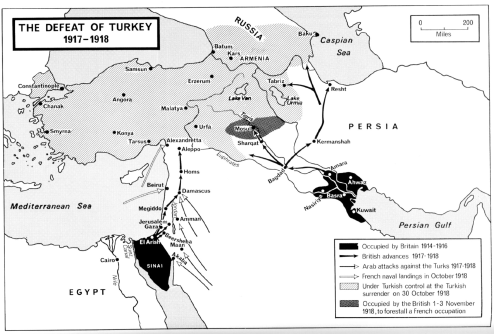 Basra and the southern Shia region of Iraq would be and important base of operations against the Ottoman Empire