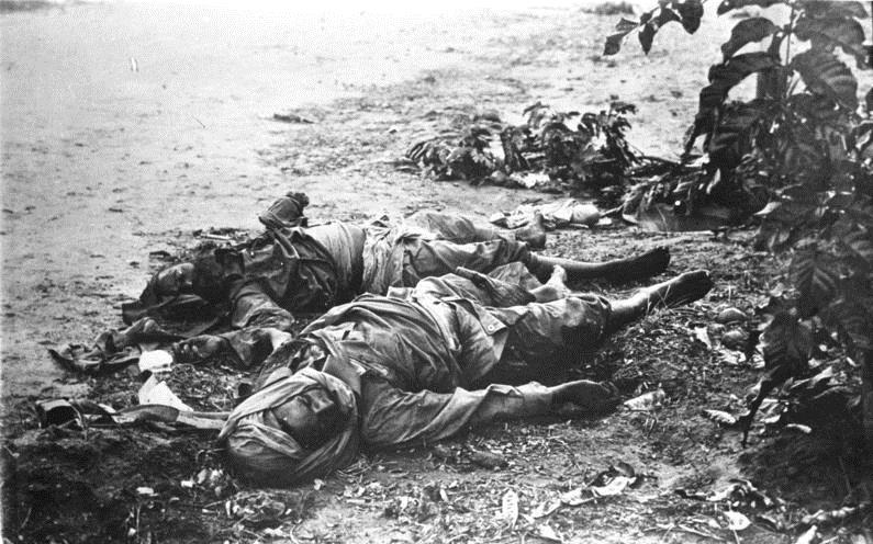 Troops of the Indian B Corps killed at Tanga