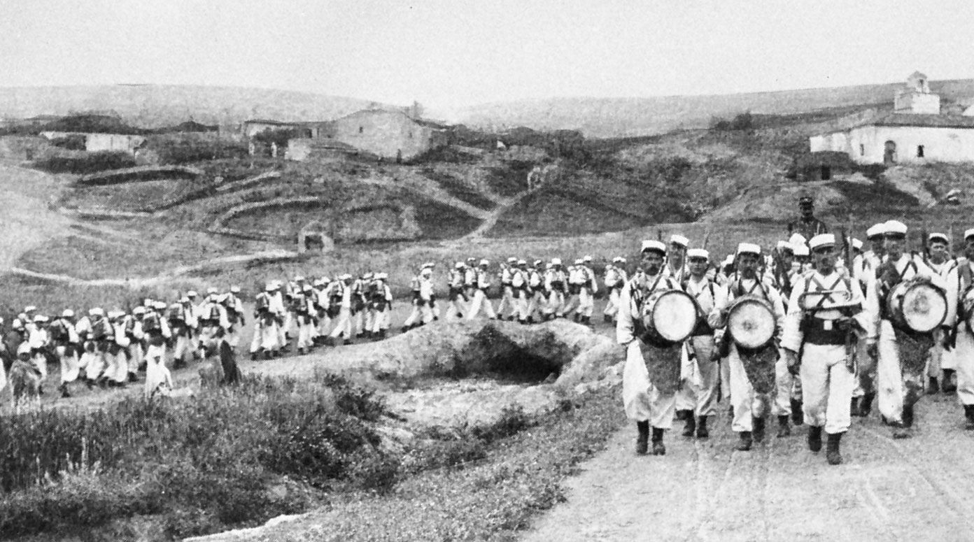 Troops of the French Foreign Legion in Morocco ca. 1914