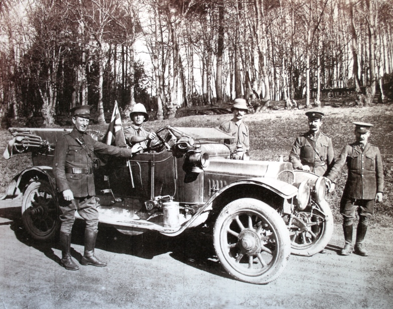 The Vauxhall motor car Louis Botha used during his invasion of German Southwest Africa