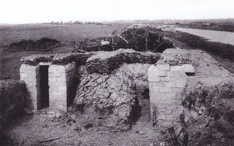 The 'Iron Trench' near Dikesmuide