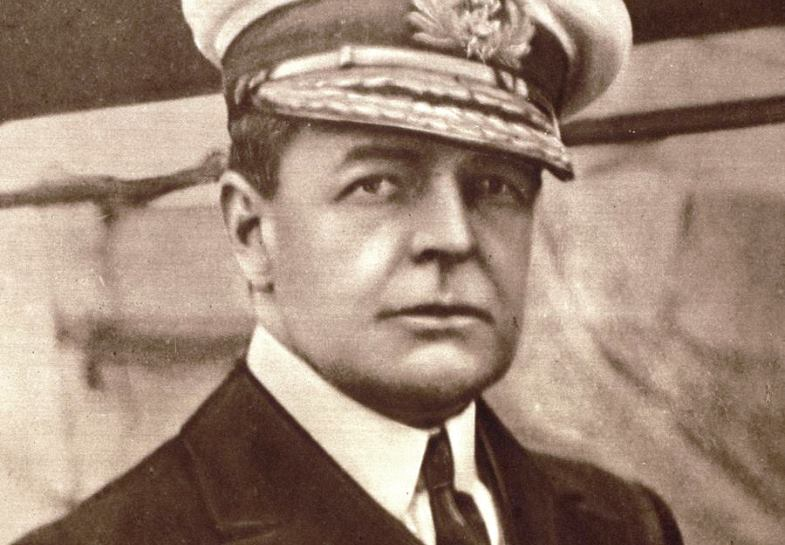 Vice Admiral Sturdee was sent to the South Atlantic with one mission: to end Spee's cruiser threat