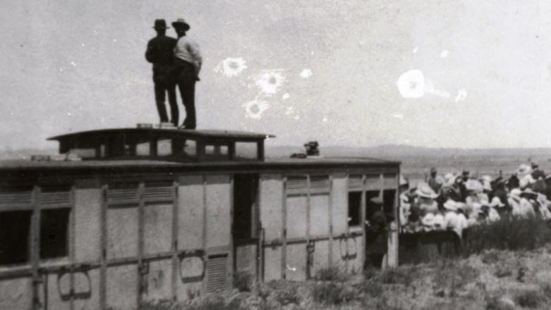 The annual picnic train