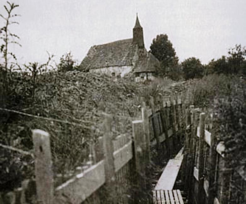 A trench at Burhaupt. Via PierresWesternFront