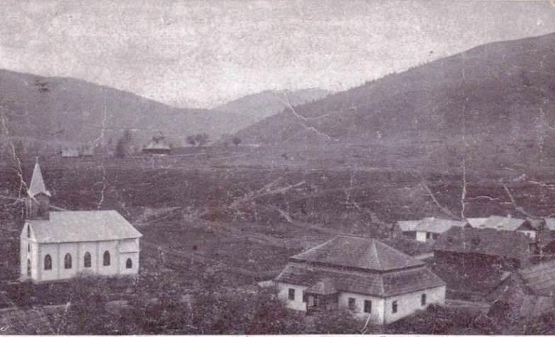 A contemporary postcard view of Kirlibaba (Carlibaba)