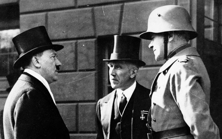 Adolf Hitler and Franz von Pappen ca. 1933