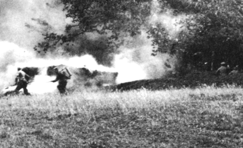 A Kleif squad spearheads an assault in July