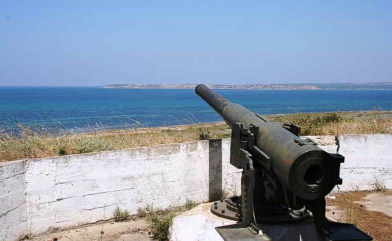 A Turkish gun at Kumkale