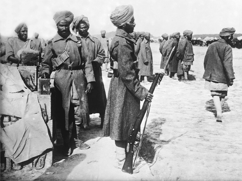 Muslim soldiers on the Western Front in 1915