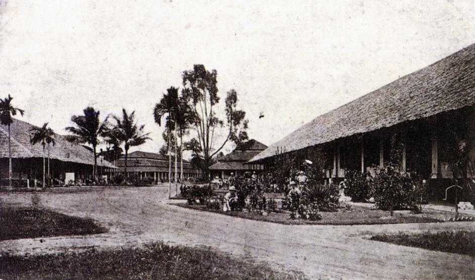Tanglin Barracks in 1900