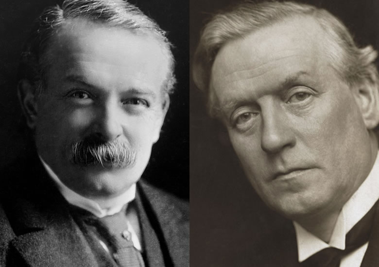 Damn Liberals: David Lloyd George and Herbert Henry Asquith