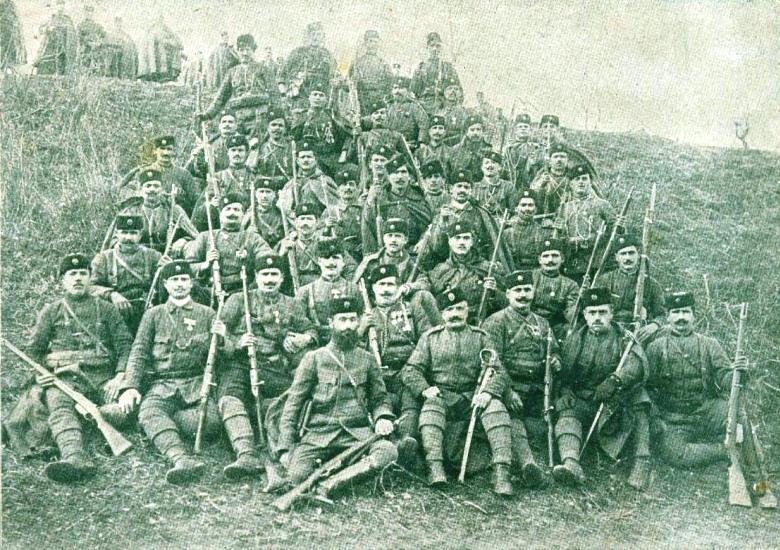 Todor Alexandrov and his cheta
