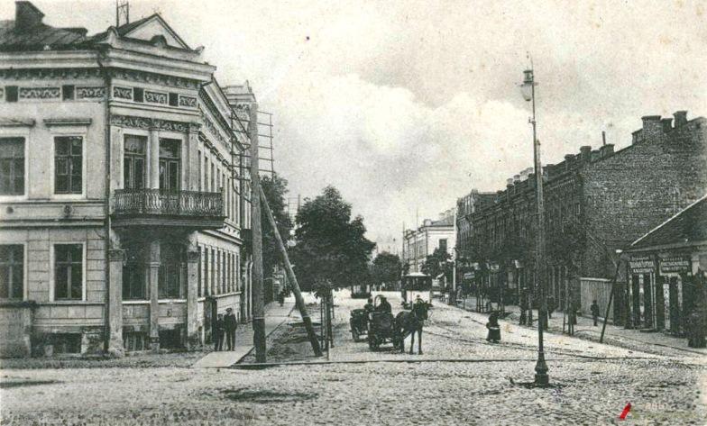 The Kovno ghetto ca. 1900.