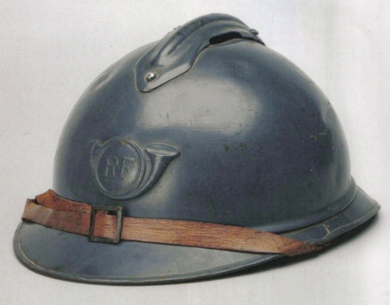 A result of intense engineering and development, the Adrian helmet is introduced this month by the French Army