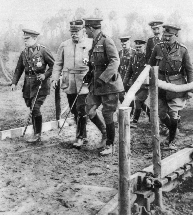 Haig Joffre and French at the Front