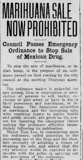 The El Paso Morning Times reported on May 15, 1915