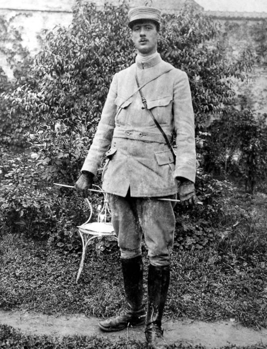 De Gaulle in 1915