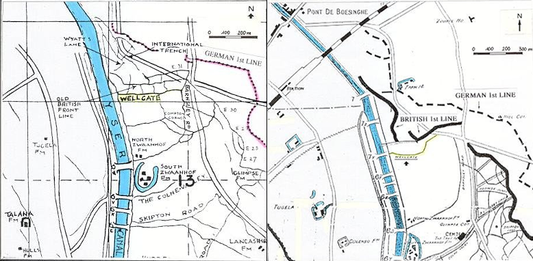 Two maps of the International Trench. Via Mausershooters.org