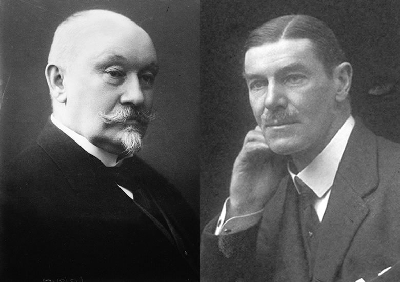 Left: Norwegian Foreign Minister Nils Claus Ihlen, who speaks no English. Right: British envoy Sir Mansfeldt de Cardonnel Findlay, who don't speak a word of Norwegian. Forced to communicate in French, their relationship is not comfortable
